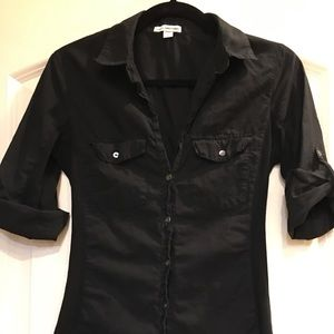 EUC🦋James Perse Button FrontShirt